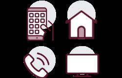 Evde internet, Mobil, Tivibu ve Ev telefonu sahibi olup evde internette veya mobilde hattı Prime olan