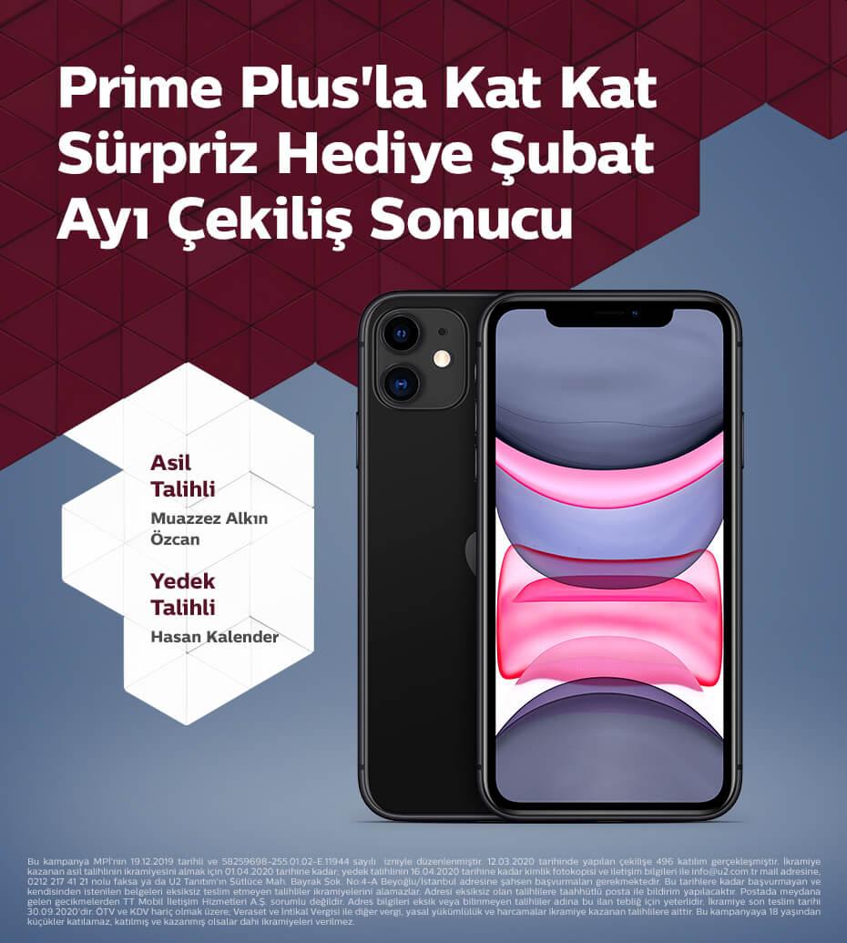 Prime Plus'la Kat Kat Sürpriz Hediye